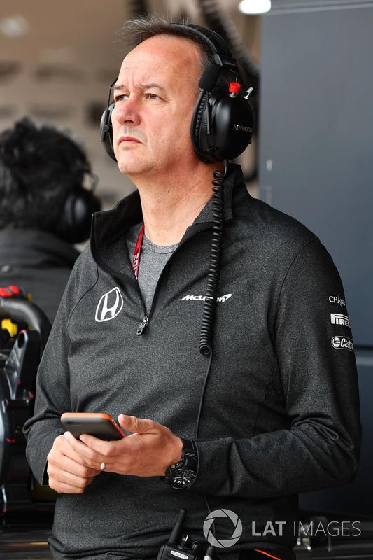 Jonathan Neale, Director Gerente de McLaren