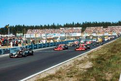 Start: Mario Andretti, Lotus 79 Alfa Romeo; John Watson, Brabham BT46B Ford; Niki Lauda, Brabham BT46B Alfa Romeo
