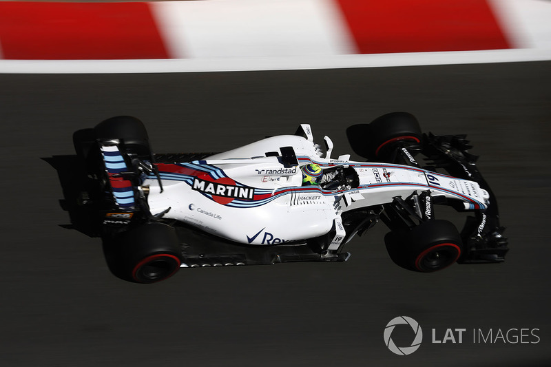 10º Felipe Massa, Williams FW40 (20 puntos)