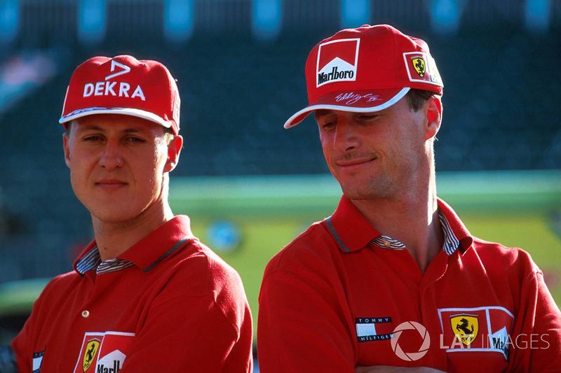 Schumacher, que ya había ganado dos títulos con Benetton, intentó triunfar al volante del Ferrari; la última vez lo hizo Jody Scheckte, en 1979. El alemán ya tenía dos victorias y dos podios en la temporada.