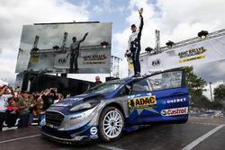 Winners Ott Tänak, Martin Järveoja, Ford Fiesta WRC, M-Sport