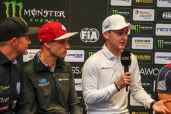 Press Conference, Janis Baumanis, STARD, Ford Fiesta, Reinis Nitiss, EKS, Audi S1 EKS RX Quattro