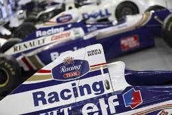 Detail eines 1990er Williams Renault Sport F1 Team von Damon Hill