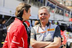 Massimo Rivola, Sporting Director, Ferrari, Mario Isola, Racing Manager, Pirelli Motorsport