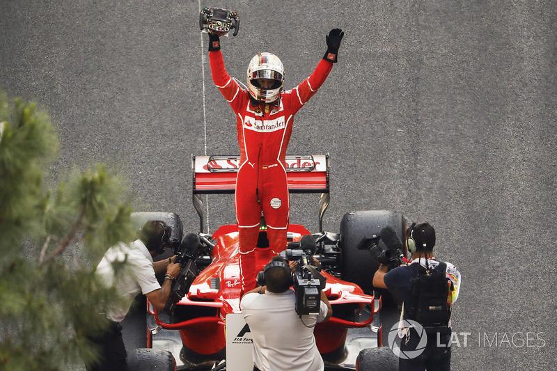 6º GP de Mónaco 2017 - Victoria para Sebastian Vettel, Ferrari