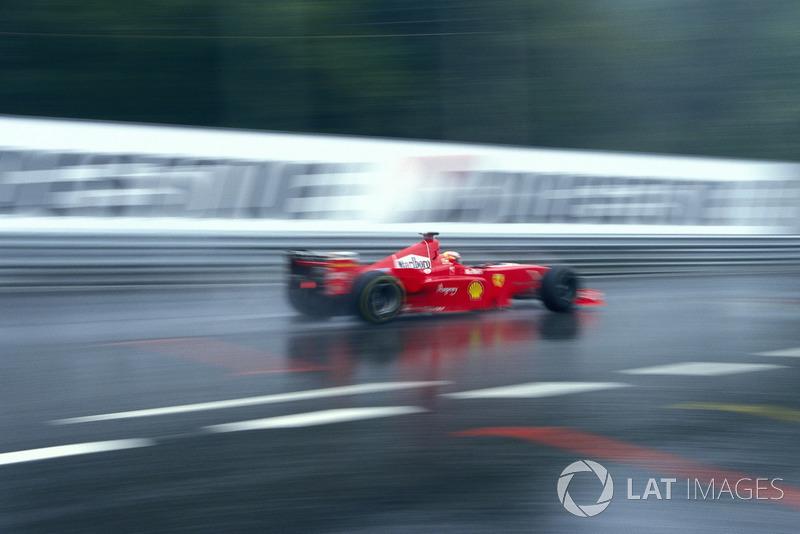 Michael Schumacher se convierte en una leyenda de la F1