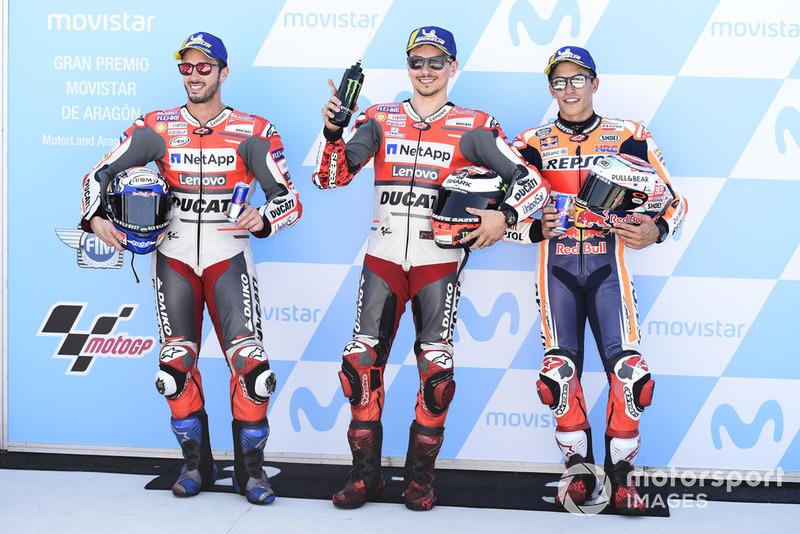 Хорхе Лоренсо, Ducati Team, поул-позиція на Гран Прі Арагону