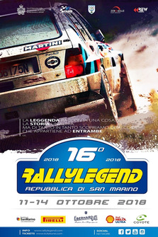 Locandina Rally Legend
