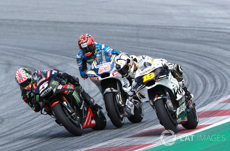 Жоанн Зарко, Monster Yamaha Tech 3, Тіто Рабат, Avintia Racing, Альваро Баутіста, Angel Nieto Team