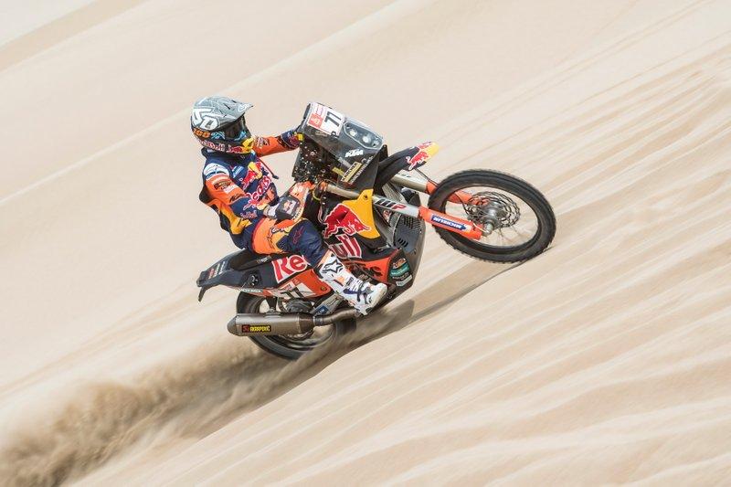 #77 Red Bull KTM Factory Racing: Лусіано Бенавідес