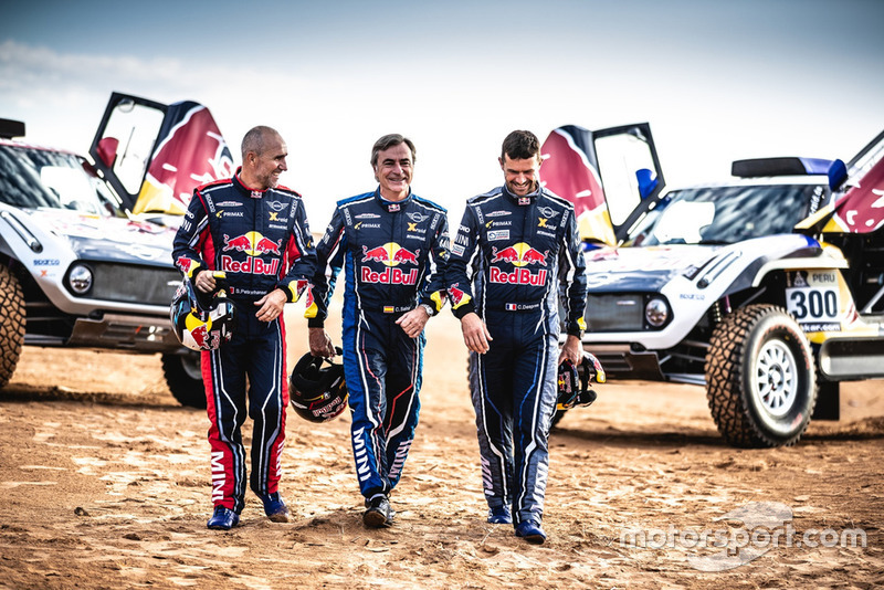 Carlos Sainz, Cyril Despres, MINI John Cooper Works Buggy, Stéphane Peterhansel, X-raid MINI JCW Team