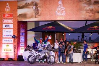 Podium : Bas Dakar Team: Kenneth Gilbert