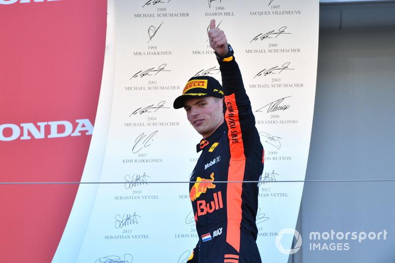 Derde plaats: Max Verstappen, Red Bull Racing