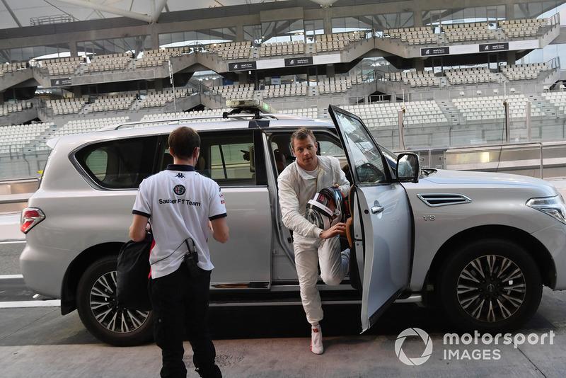 Kimi Raikkonen, Sauber returns to the pits