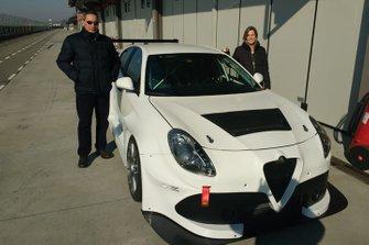 Oriano Agostini e Michela Cerruti, Alfa Romeo Giulietta TCR, PRS Motorsport