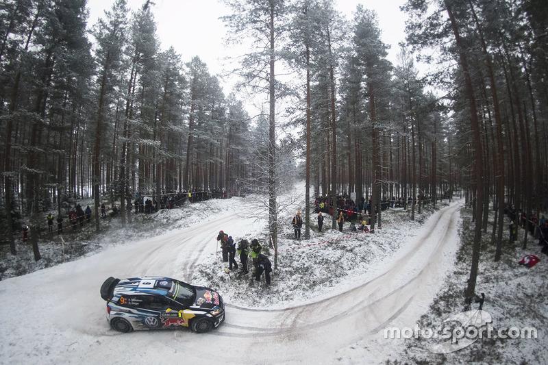 7. Andreas Mikkelsen, Anders Jäger, Volkswagen Polo WRC, Volkswagen Motorsport