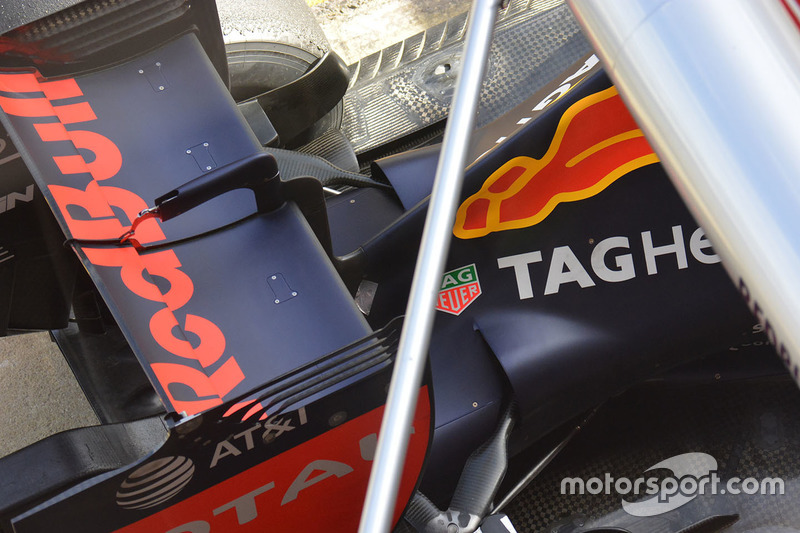 Detail Heck, Red Bull Racing RB12