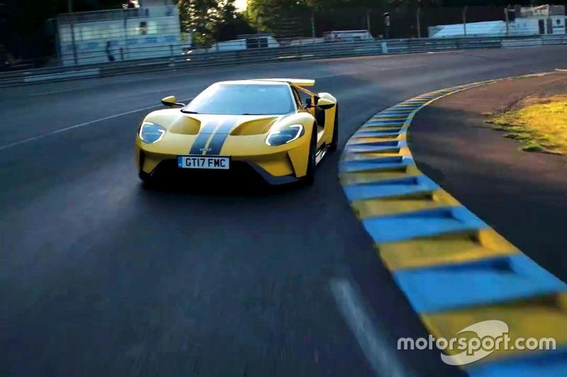 Кен Блок та Ford GT Le Mans