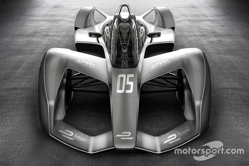 Концепт новой машины Формулы E от Spark Racing Technology