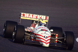 Roberto Moreno, AGS Cosworth - retired with engine troubles