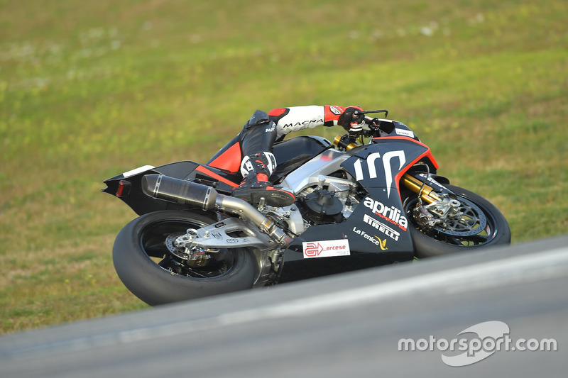 Leandro Mercado, Aprilia Racing