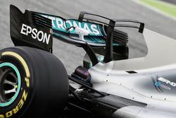 Mercedes AMG F1 W08: Finne und T-Wing