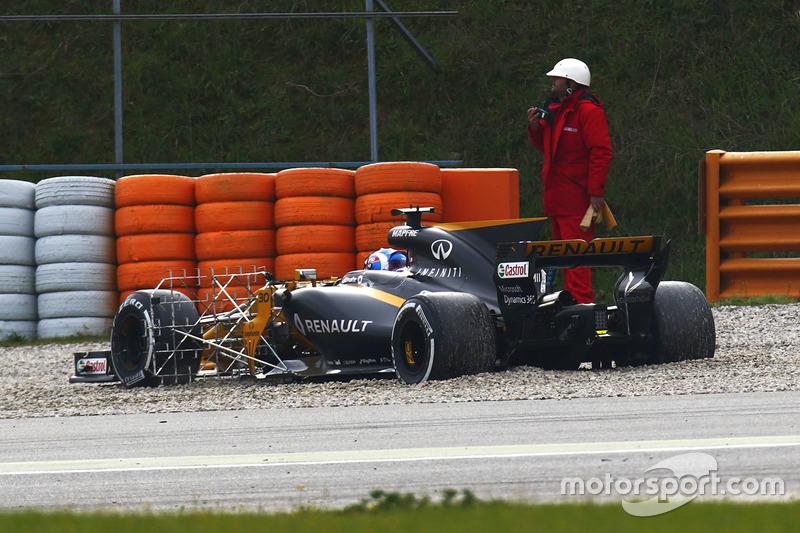 Джолион Палмер, Renault Sport F1 RS17: разворот