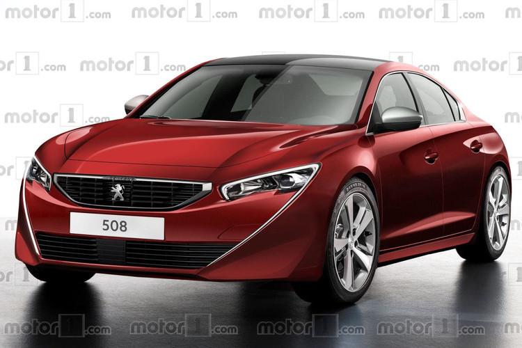 Концепт Peugeot 508