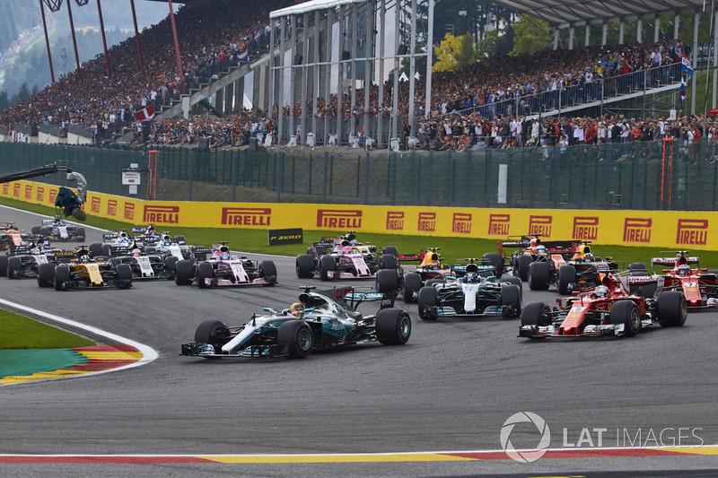 No dia 27 de agosto de 2017, o GP da Bélgica recebeu 265 mil espectadores e marcou um novo recorde de público em uma etapa da F1