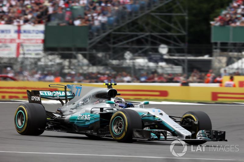 5 місце — Валттері Боттас, Mercedes — 185