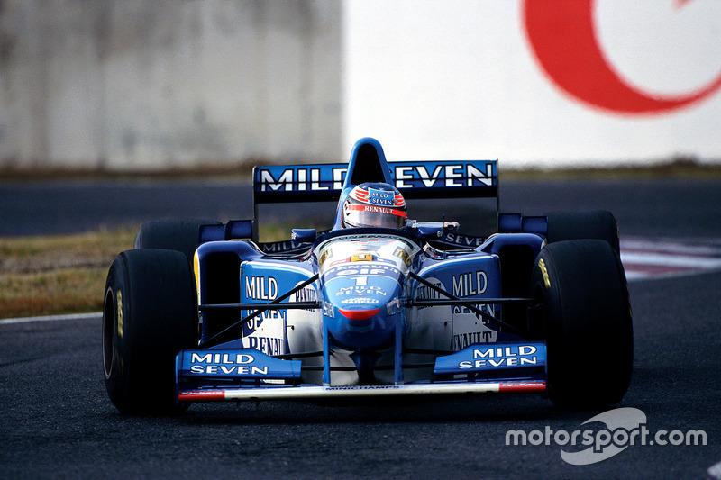 Suzuka 1995: Michael Schumacher, Benetton B195