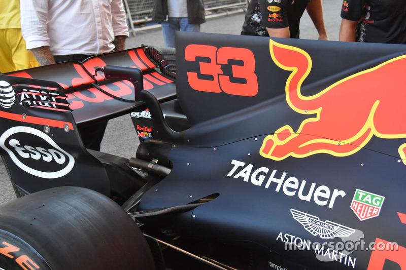 Red Bull Racing RB13 chasis