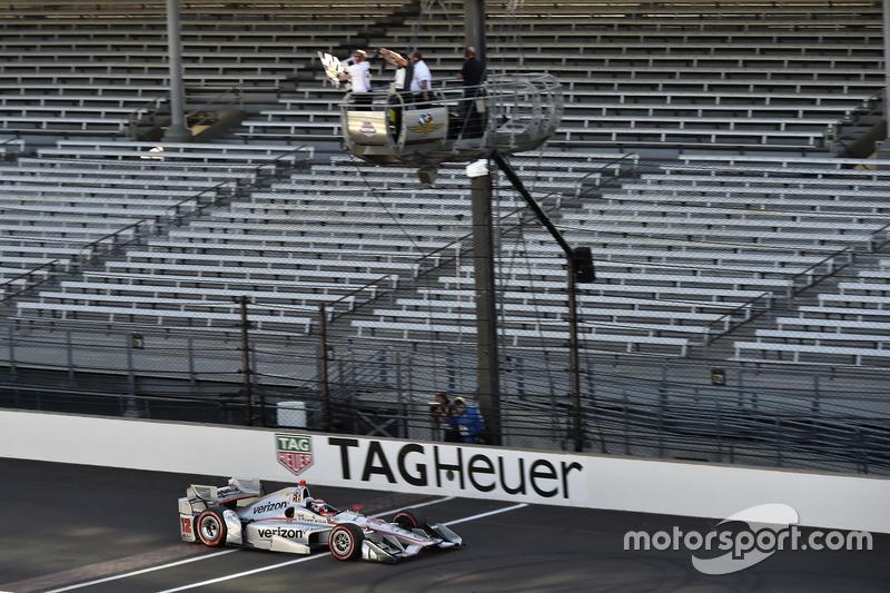 Will Power, Team Penske Chevrolet toma la victoria