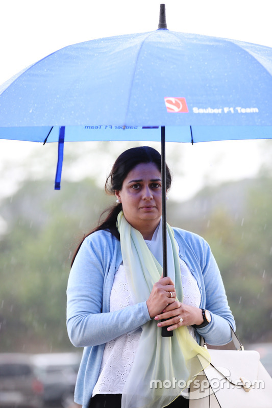 Monisha Kaltenborn, Team Principal and CEO, Sauber