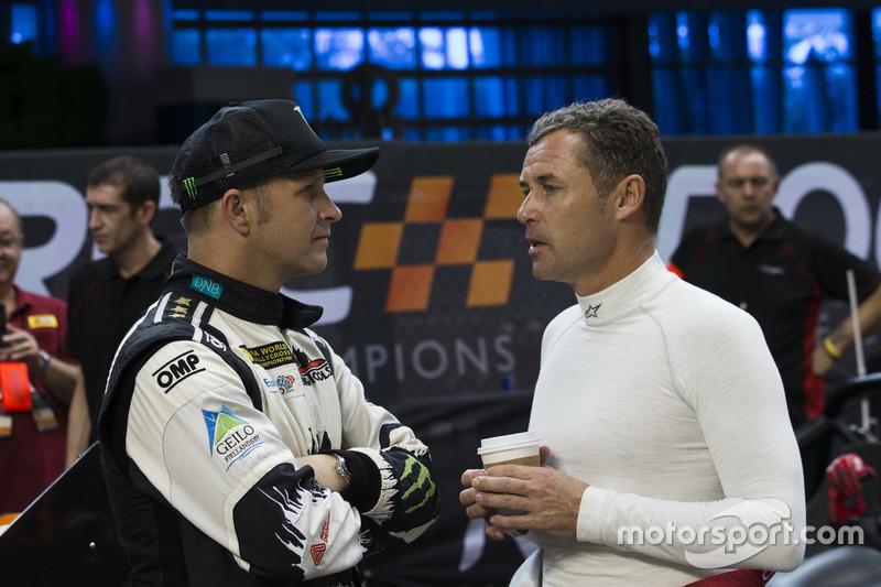 Tom Kristensen y Petter Solberg