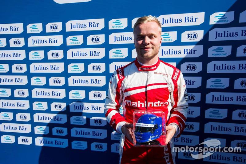 Pole Position für Felix Rosenqvist, Mahindra Racing