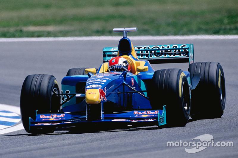 1998: Sauber-Petronas C17 (один подиум, 7-е место в КК)