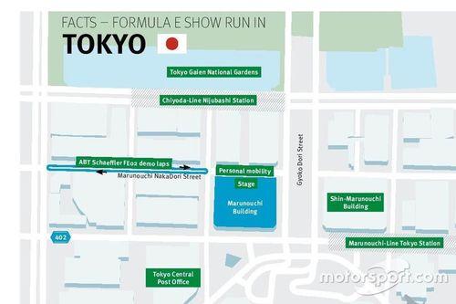 Esibizione a Tokyo