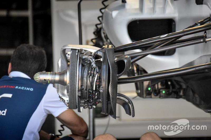 Williams FW40, brake detail