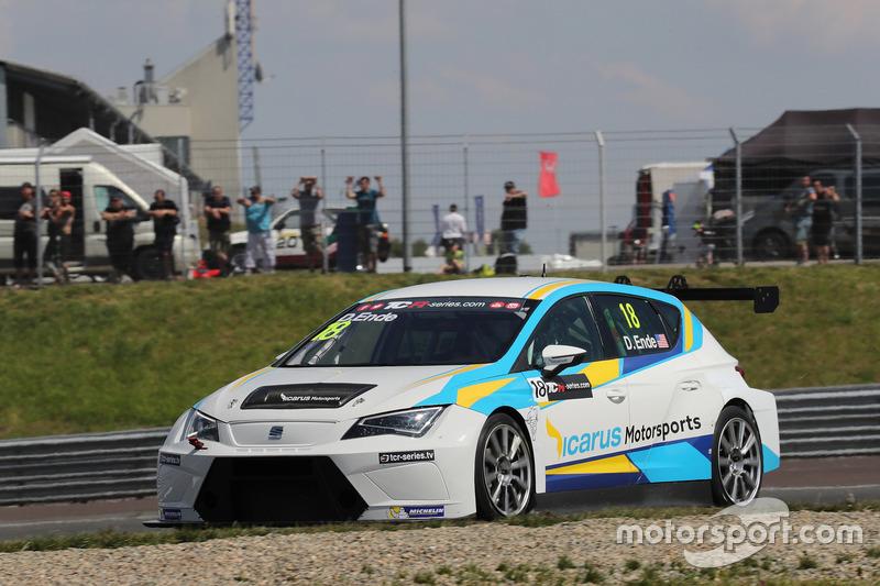 Дункан Енде, Icarus Motorsports, SEAT León TCR