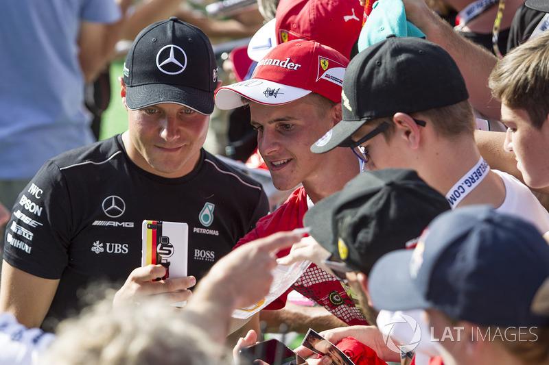 Valtteri Bottas, Mercedes AMG F1 taraftarları