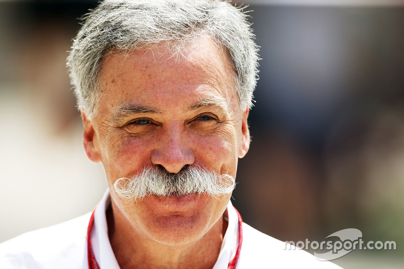 Chase Carey, Formel-1-Boss