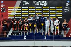 На подиуме победители гонки в категории LMP2, экипаж #32 United Autosports, Ligier JSP217 - Gibson: Уильям Оуэн, Юго де Саделер и Филипе Альбукерк, на втором месте #22 G-Drive Racing, Oreca 07 - Gibson: Мемо Рохас, Рио Хиракава и Лео Руссель, на третье месте #39 Graff, Oreca 07 - Gibson: Эрик Труайе, Поль Пети и Энцо Джибберт