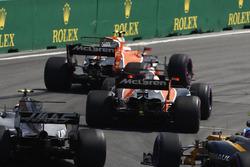 Стоффель Вандорн, Фернандо Алонсо, McLaren MCL32