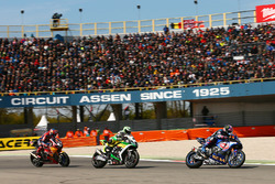 Alex Lowes, Pata Yamaha; Roman Ramos, Team Go Eleven; Stefan Bradl, Honda World Superbike Team