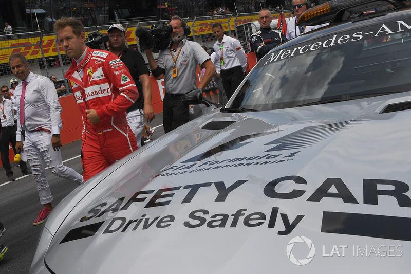 Себастьян Феттель, Ferrari, автомобіль безпеки