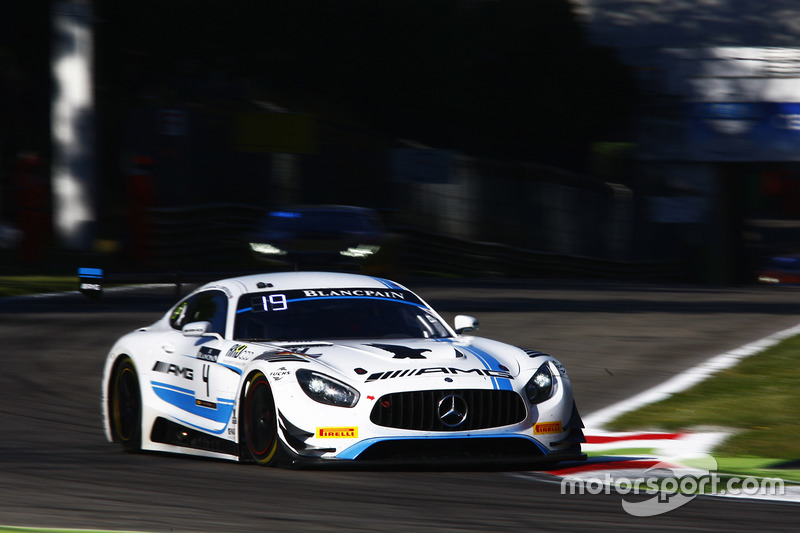#4 Black Falcon, Mercedes-AMG GT3: Adam Christodoulou, Yelmer Buurman, Luca Stolz