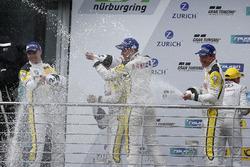 Podyum: #98 Rowe Racing, BMW M6 GT3: Markus Palttala, Nicky Catsburg, Richard Westbrook, Alexander Sims