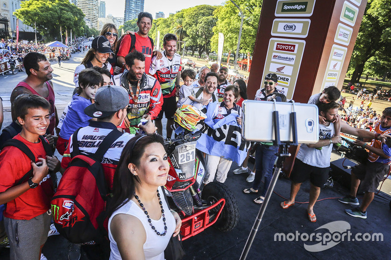 #261 Honda: Santiago Hansen