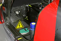 #8 Audi Sport Team Joest Audi R18 cockpit detail
